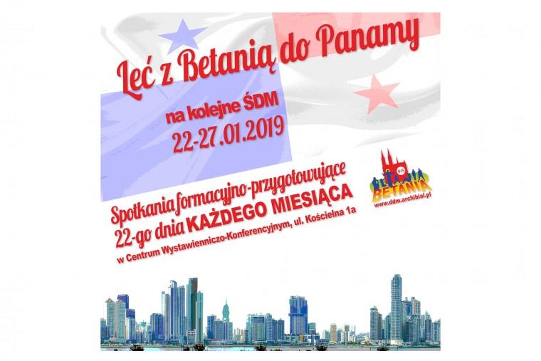 Leć z Betanią do Panamy