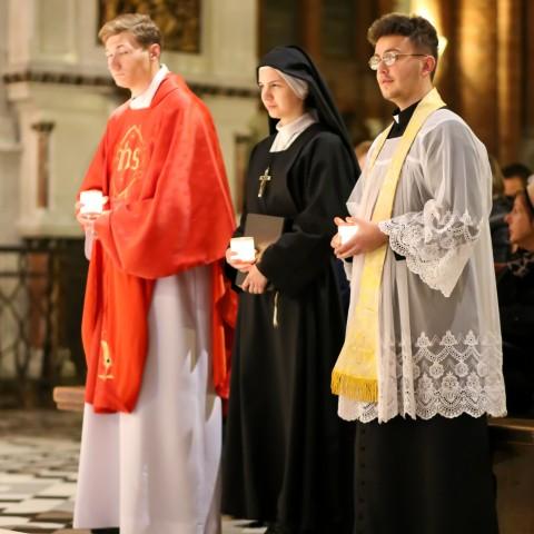 Wieczór ze świętymi w białostockiej katedrze