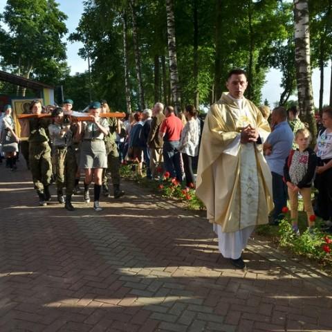 Peregrynacja symboli ŚDM - dzień 2.