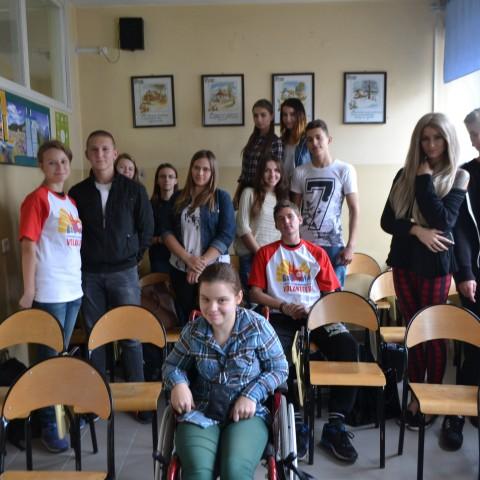 Fotorelacja z wizyty w Zespole Szkół Technicznych i Ogólnokształcących z Oddziałami Integracyjnymi