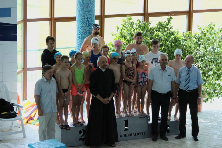 1050 m na basenie - zawody w Michałowie