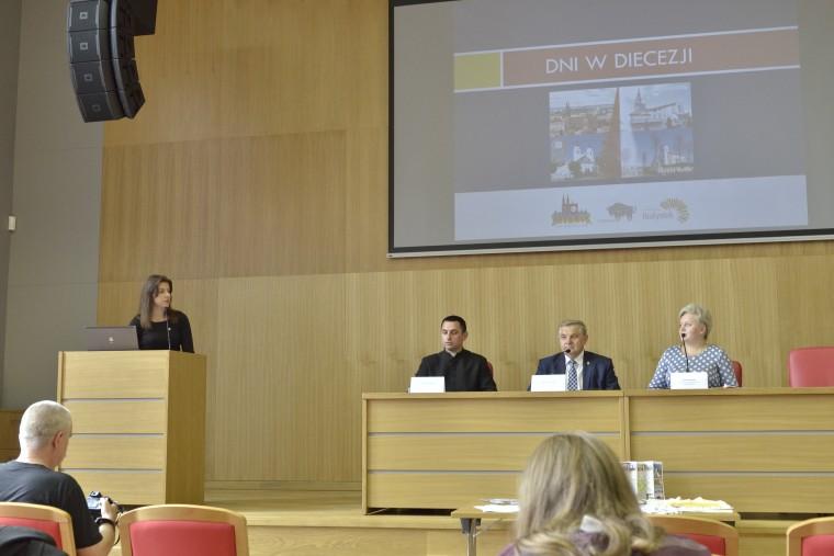 Konferencja prasowa dotycząca organizacji ŚDM w Białymstoku