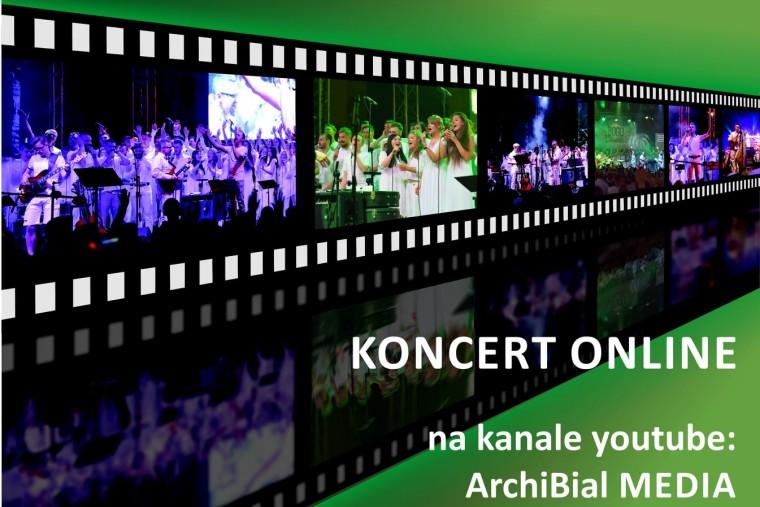 plakat koncertu w 2020 roku